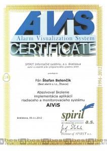 Certifikát ALViS