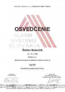 Školenie kamerový systém CCTV