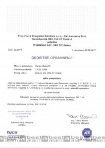 Osobitné oprávnenie EPS ZETTLER expert, ZX/MZX, LOOP 500